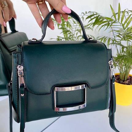 Женская сумка Urban зеленая СУ258, фото 2