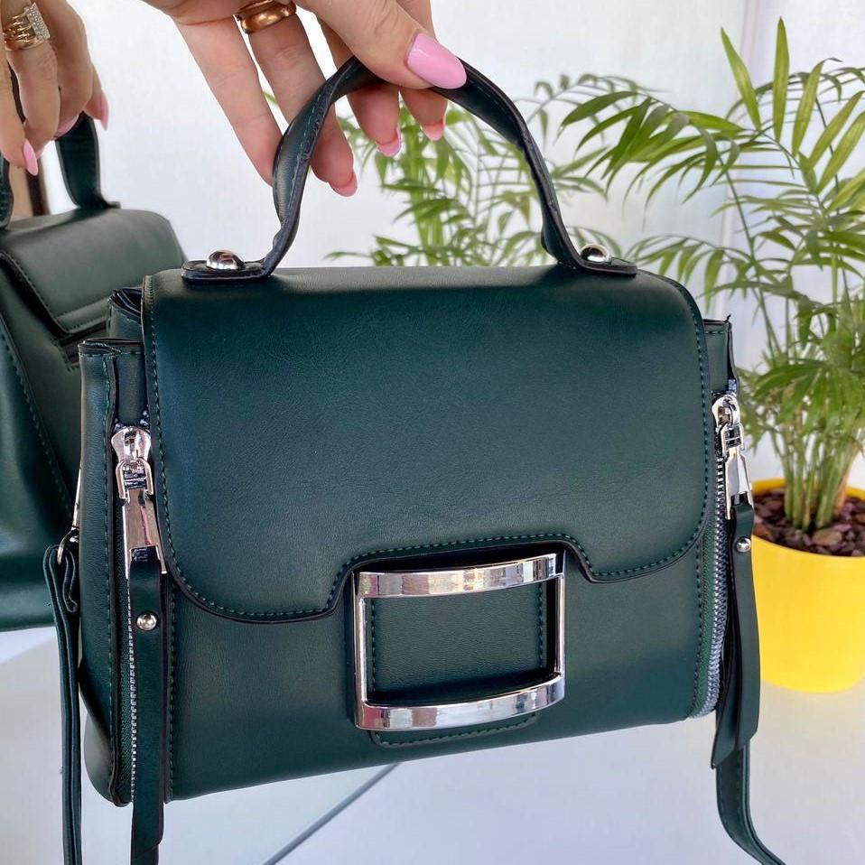 Женская сумка Urban зеленая СУ258