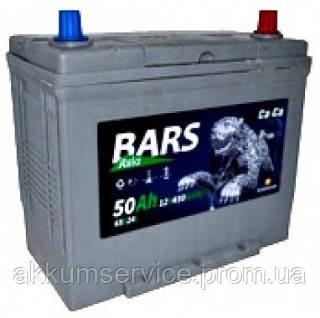 Аккумулятор автомобильный Bars Asia 50AH L+ 450A