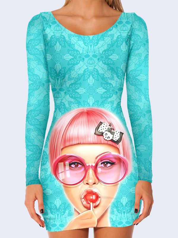 3D платье Чупа-чупс (Размер: S(44), Фасон: Женский)
