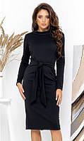 Платье 431539 42 чёрный