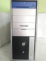 Системный блок Intel E4600 2.4Ghz (2 ядра) / 3Gb / 80Gb / Video int / ATX 350W