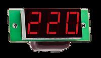 Вольтметр переменного тока Вм-19 (220в) однофазный без корпуса