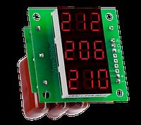 Вольтметр переменного тока Вм-14 (3x220в) трехфазный без корпуса