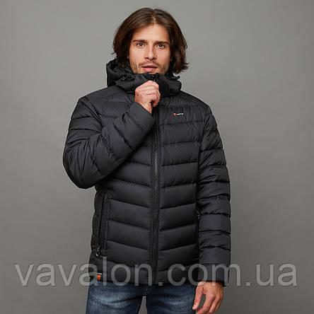 Куртка демисезонная Vavalon EZ-932 Black, фото 2