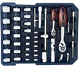Великий набір інструментів 399 pcs від Swiss Craft International PL-399ТLG, у валізі, з ручкою і колесами, фото 3