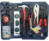 Великий набір інструментів 399 pcs від Swiss Craft International PL-399ТLG, у валізі, з ручкою і колесами, фото 4
