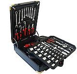 Великий набір інструментів 399 pcs від Swiss Craft International PL-399ТLG, у валізі, з ручкою і колесами, фото 5