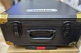 Великий набір інструментів 399 pcs від Swiss Craft International PL-399ТLG, у валізі, з ручкою і колесами, фото 8