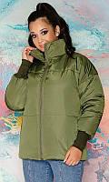 Куртка 858517/1 48/50 зелёный