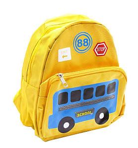 """Детский рюкзак """"Школьный автобус"""" (жёлтый)"""