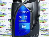Масло фреоновое suniso sl 32 synthetic, 1 литр. Для компрессоров, под фреон 134a, 404a, 507, 407c, 410a.