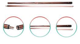 """Кий """"Преміум"""" палісандр 12+8 запилів (товщина запила 0.5 мм.)"""