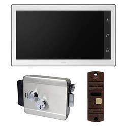 Комплект видеодомофона ARNY AVD-1040 с видеопанелью AVP-05 NEW и уличным электромеханическим замком ATIS Lock