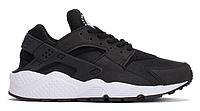 """Жіночі Кросівки Nike Huarache """"Black White"""" (Копія ААА+), фото 1"""