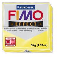 Полимерная глина FIMO Effect, прозрачный желтый (56г) STAEDTLER