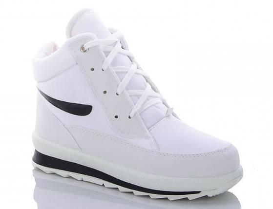 Женские зимние кроссовки BR-S высокие белые 37 р. - 23 см 1258343820, фото 2