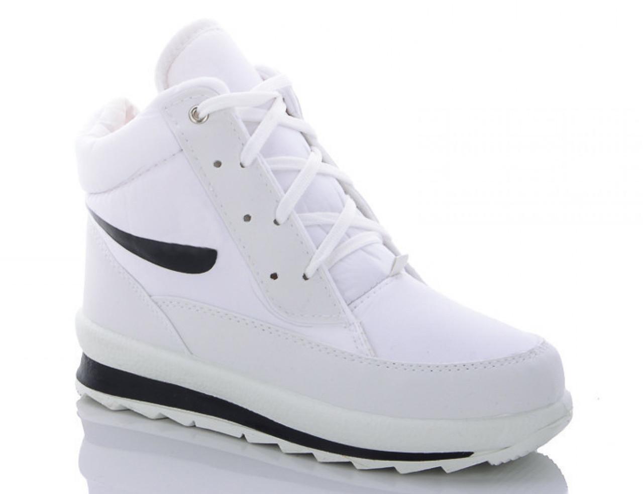 Женские зимние кроссовки BR-S высокие белые 37 р. - 23 см 1258343820