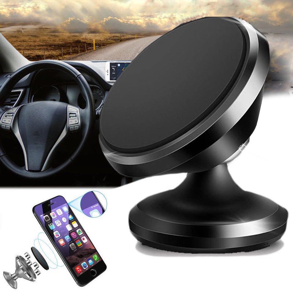 Автомобильный магнитный держатель для телефона, смартфона на торпеду