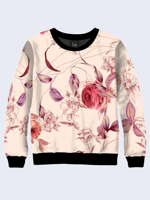 Свитшот dreamy rose (Размер: XS(42), Фасон: Женский)