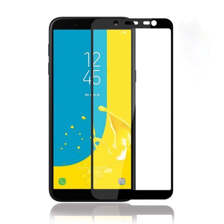 Защитное стекло Samsung Galaxy J6 2018 (Черный)
