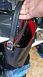 Стильные женские сумки из эко кожи 3отд (2цвета)25*29см, фото 2