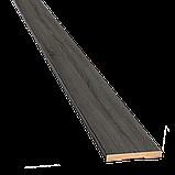 Межкомнатные двери Новый Стиль Грета ПВХ DeLuxe с черным стеклом цвет Ясень new, фото 8