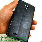 Lenovo A850 чорний чохол-книжка на телефон, фото 4