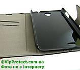 Lenovo A850 чорний чохол-книжка на телефон, фото 7