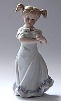 "Статуэтка ""Девочка с котёнком"" (22 см), фото 1"
