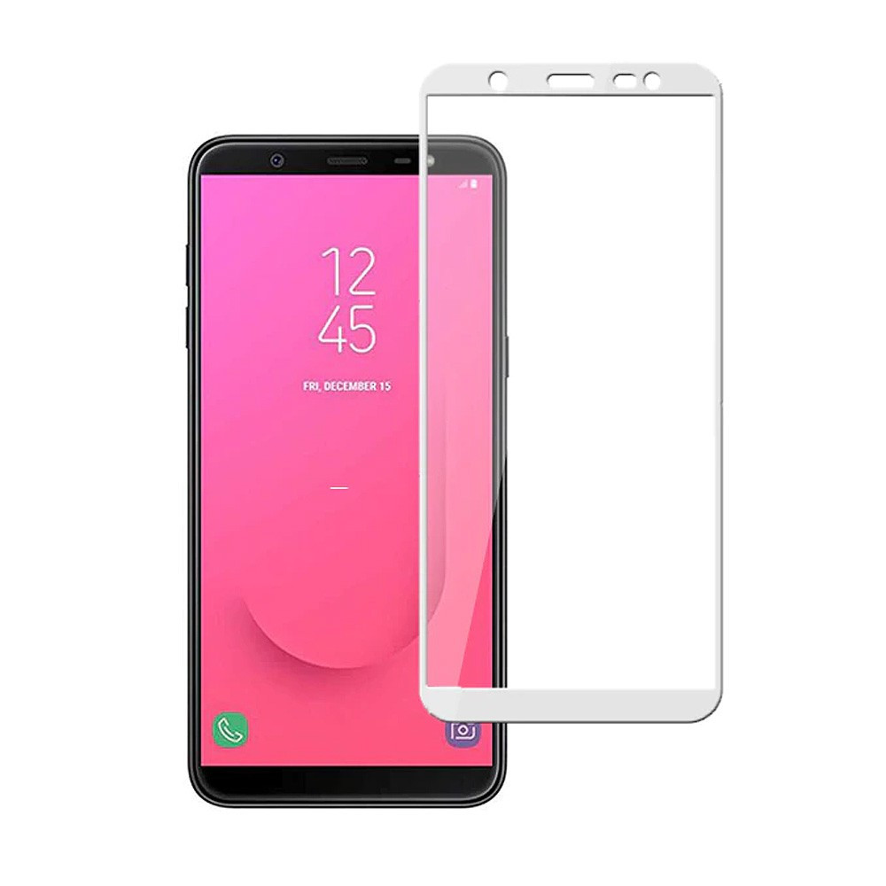Защитное стекло Samsung Galaxy J6 2018 (Белый)