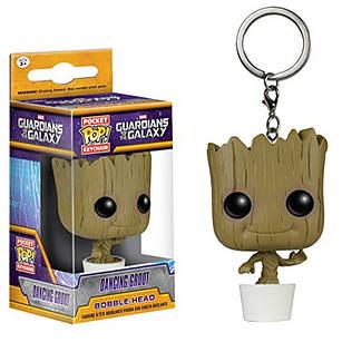 Фигурка - брелок Funko Pop танцующий Грут Groot Guardians of the Galaxy Стражи Галактики 4 см 60.66 СГ