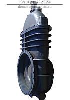 Засувка чавунна 30ч925бр Ду1000 Ру2.5 під електропривод