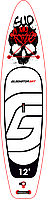 "Сапборд Gladiator ART 12'6"" x 32"" MY LOVE - надувна дошка для САП серфінгу, sup board, фото 2"