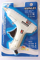 Клеевой электрический пистолет 11 мм 40 Вт XUNLEI xl-f с кнопкой выключения, фото 1