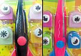 """Набор для скрапбукинга: Фигурные ножницы + 4 фигурных дырокола (ТМ """"Olli""""), фото 5"""