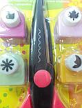 """Набор для скрапбукинга: Фигурные ножницы + 4 фигурных дырокола (ТМ """"Olli""""), фото 9"""