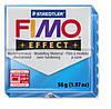 Полимерная глина FIMO Effect, прозрачный голубой (56г) STAEDTLER