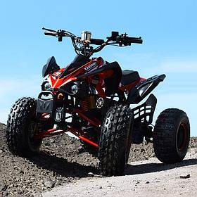 Квадроцикл (мотор-диференциал 1000W, 4аккум) Profi HB-EATV1000Q2-2 (MP3) красный | Дитячий квадроцикл Профі