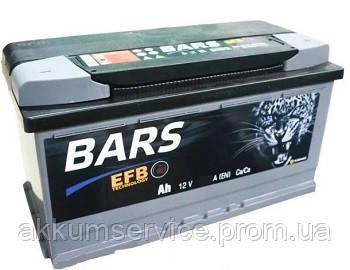 Аккумулятор автомобильный Bars EFB 62AH L+ 600A