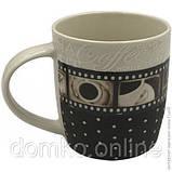 Кружка Кофейная строчка Vittora 360мл (VT-C-24360), фото 2