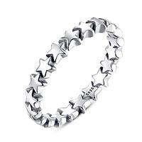 Кольцо серебряное женское Звездный шлейф WOSTU размер 16,5 Стерлинговое серебро 925