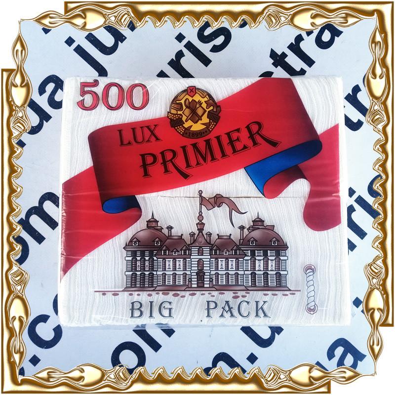 Салфетка столовая Lux Primier Big Pack 500 л. (барная)