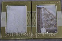 Тканинна скатертину на стіл з поліестеру 16х220 Эфтелия прямокутна
