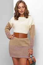 Свитер длинный - платье оверсайз размер 44-50, фото 3