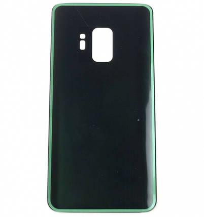 Задняя крышка Samsung G960F Galaxy S9 черная Midnight Black, фото 2