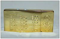 """Зажигалка """"Слиток золота"""" маленькая, фото 1"""