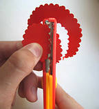"""Набор для скрапбукинга: Фигурные ножницы + 4 фигурных дырокола (ТМ """"Olli""""), фото 4"""