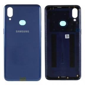 Задняя крышка Samsung A107F Galaxy A10s 2019 синяя, Оригинал Китай  стекло камеры