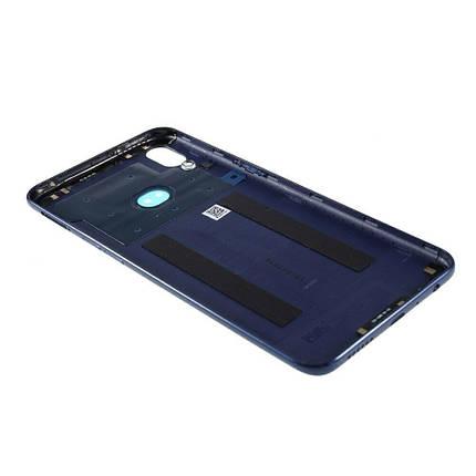 Задняя крышка Samsung A107F Galaxy A10s 2019 синяя, Оригинал Китай  стекло камеры, фото 2